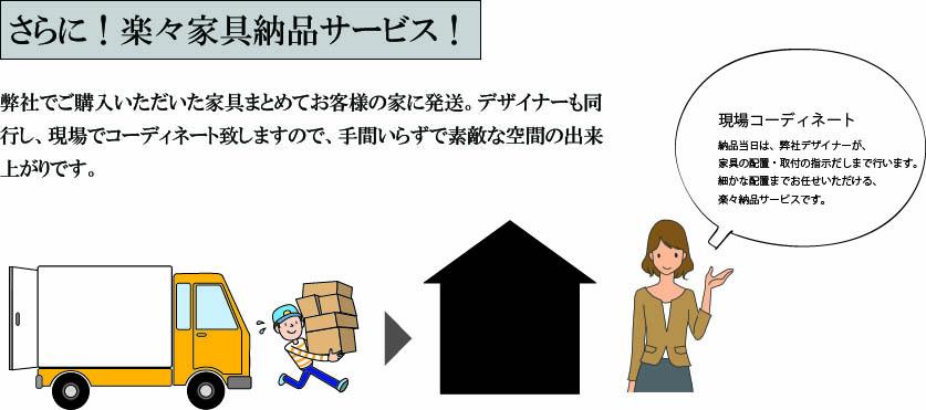 楽々家具納品サービス