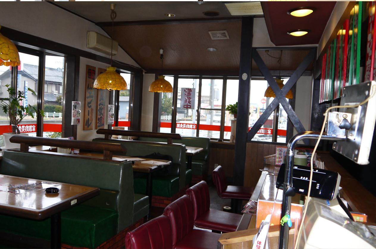 2015-01-29 麺屋 壱力様-1 【3Dパース提案】(津島店) 1.Before テーブル