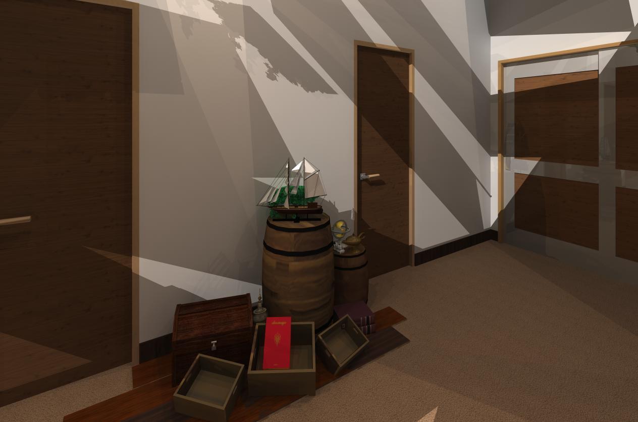 2012-06-08 千種区 EST様-2 塾ホール【空】2.3D
