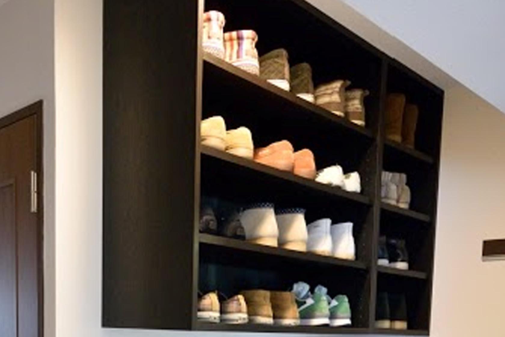 モデルルーム 靴箱
