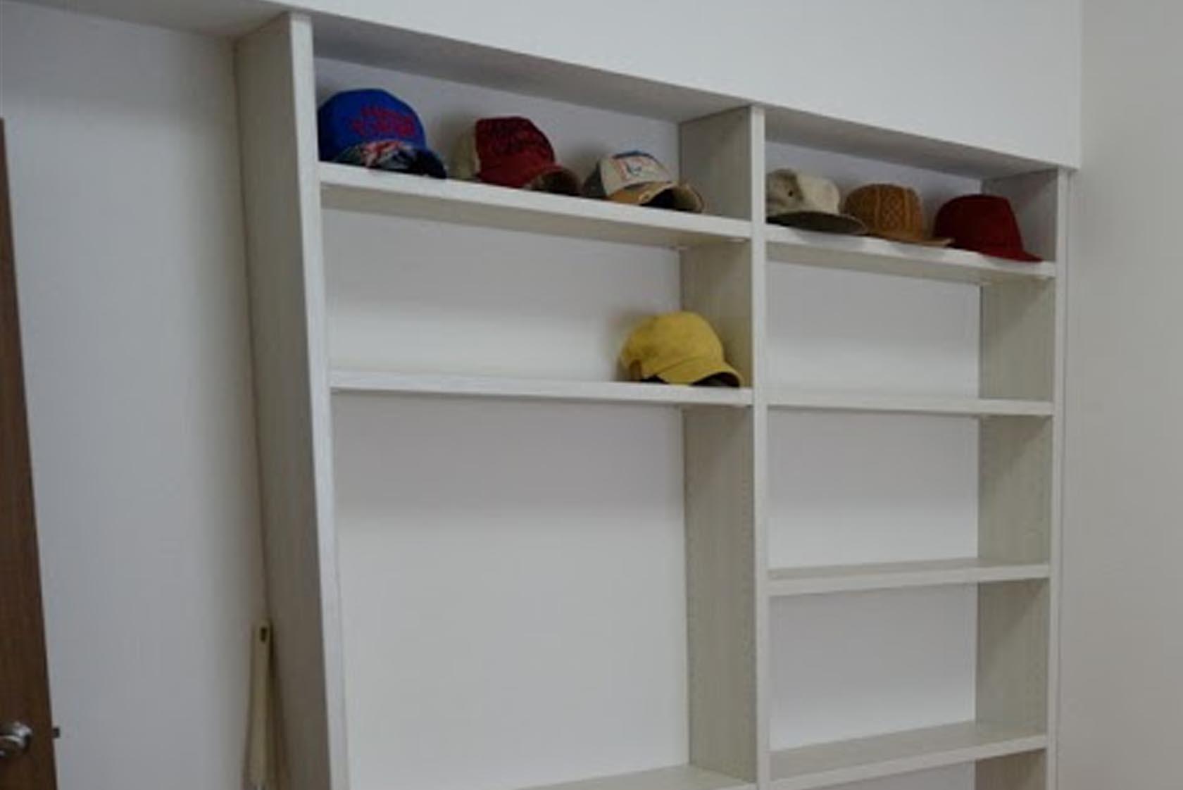 モデルルーム 帽子